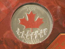 Canada 2001 Color 25 Cents, Still in Original packaging #G6949