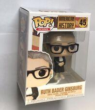 Funko Pop Vinyl Ruth Bader Ginsburg American History Icons BNIB