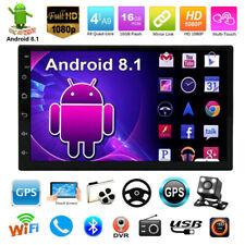 "7"" Autoradio Android 8.1 Quad Core GPS Navigation MP5 Player Bluetooth WiFi 2Din"