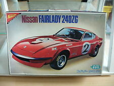 Model kit Nichimo Nissan Fairlady 240ZG on 1:24 in Box (spare or repair)