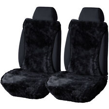 2er Lammfellbezug Schonbezug Auto echt Lammfell Vordere Sitzbezug AS7336dgr-2