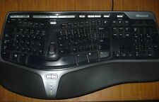 LOT OF 10 Microsoft Natural 4000 Ergonomic Wired Keyboard for WINDOWS and MAC