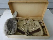 1957 Original Davy Crockett Costume by Wolf of Waco, New Old Stock In box