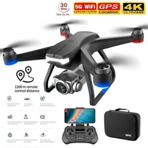F11 PRO GPS Drone 4K Professional RC Quadcopter Wide Angle Camera 3 Batteries