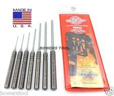 Grace Gunsmith Roll Spring Pin Punch Set 7pc Gun Care Machinist Made in USA