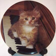 The Crestley Collection, Kitten on the Keys, Picture Purrfect, Collector Plate
