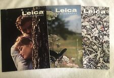Leica Photography Magazine All Issues from 1962 Volume 15 Numbers 1, 2, 3