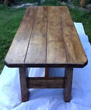 A country rustic style dining table