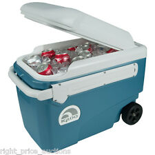 Igloo MaxCold 40 Quart 38L Glide Rolling Cool Box Ice Cooler 5 Days NEW