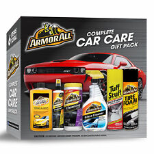 Complete Car Care Kit Gift Pack Cleaning Set Auto Shine Wash Wax Glass Cleaner