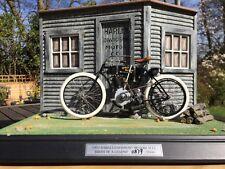 Franklin Mint 1:10 Harley Davidson 1903 el 1st, no 1 el nacimiento de una leyenda Diorama