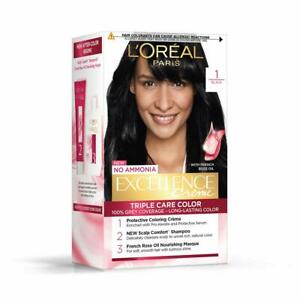 L'Oreal Paris Excellence Creme Hair Color 100 g + 72 ml All Size / Free Shipping