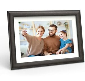 WiFi Digital Picture Frame 10-inch - Smart Photo Frame with Touch Screen