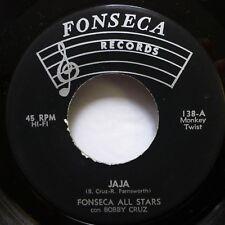FONSECA ALL STARS Bobby Cruz 45 Jala / Solo En Ti Pensane MINT- latin soul c3037