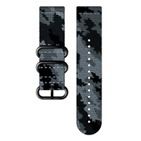 Genuine Suunto Traverse Alpha Textile Watch band Strap Concrete SS023450000