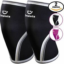"""Smalets Knee Sleeves for Women One pair New in Box Size Medium 13.4-14.2"""""""