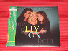 OLIVIA NEWTON JOHN BETH NIELSEN CHAPMAN AMY SKY Liv On JAPAN SHM DIGI SLEEVE CD