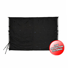 LEDJ STAR01 Sarcloth  inc. Stands & Controller (3m x 2m)