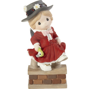 Precious Moments Disney I'm Over The Rooftops For You Mary Poppins Figurine 2110