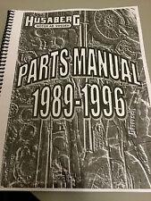 Husaberg 1989-1996 OEM Parts manual , great  Re-Print Version , spiral bound