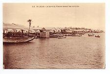 SENEGAL SAINT LOUIS le bord du fleuve devant les marchés 2