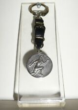 1964 Olympic Games Tokyo ORIGINAL Old Leather Keychain TOKYO 1964 VERY NICE RARE