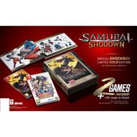 Samurai Shodown Collector's Edition Switch 2 Game + Neo Geo Shockbox Gold Edtion