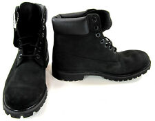 Timberland Boots 6 Inch Premium Black Shoes Size 10