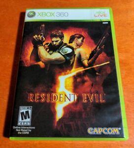 Resident Evil 5 Microsoft Xbox 360 Capcom Entertainment  Havok  Dolby  Mature