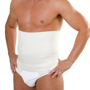 Pancera termica elastica lombare a fascia cintura in lana uomo donna panciera