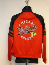 New Chicago Blackhawks Womens Sizes XS-S-M-L-2XL Red Track Jacket