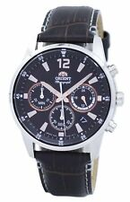 Orient Sports Chronograph Quartz Japan Made RA-KV0006Y00C Mens Watch