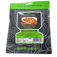 Wayfayrer Spicy Sausage and Pasta Ready-to-Eat Camping Food  Meals