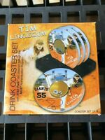 GAME USED DIRT Coasters (Set of 4) San Francisco Giants Tim Lincecum MLB COA