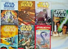 Lot of 7 Star Wars Books - Science Fiction Chapter Books