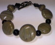 Handcrafted Cameo Glass Beads Bracelet