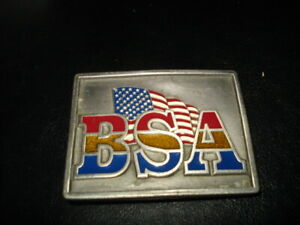 Boy Scout BSA Belt Buckle Dated 1999 on Back Order Arrow