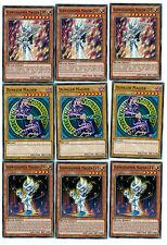 6 ldk2 YU-GI-OH playset, mosterkarten, scuro MAGO, SPADACCINO MAGO ETC