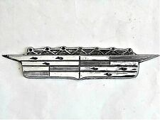 1956 CADILLAC ElDorado fender badge emblem hood ornament. Car mascot.