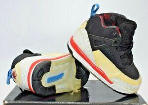 Nike Air Jordan Spizike (TD) Sneakers Black/White Toddler Size 4.5C (317701 002)