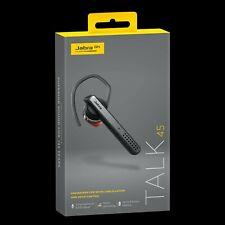 Jabra Talk 45 Bluetooth Headset - Black- Brand New In Box.