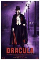 Dracula Variant MONDO PRINT - Universal Monsters - Sara Deck - xx/125