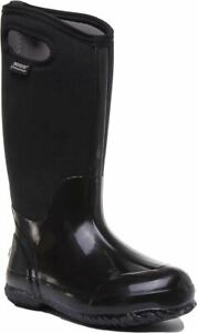 Bogs Classic High Ha 7Mm 4 Way Stretch Neo Tech Wp Boot In Black Size Uk 3 - 8
