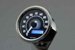 Tachimetro analogico elettronico VELONA diam.60 200KMH, con staffa DAYTONA 85833