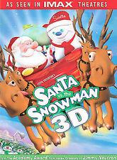 Santa vs. the Snowman (DVD, 2004, 3-D) GOOD