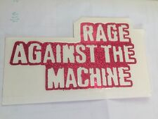 Rage Against The Machine Reflective Sticker 5 X 9 Red Silver Green Blue