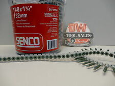 Senco Duraspin Cement Board Screws 1 1/4″ (1,000) Exterior Hardie Board