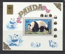Mongolia 1989 WWF Pandas/Animals m/s ref:n11588