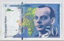 50 francs St-Exupery  de 1993 avec la variété accent, totalement NEUF REF CM 69