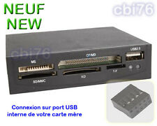 Lecteur de carte mémoire interne Compact Flash CF MD PC TF micro SD MS M2 +USB